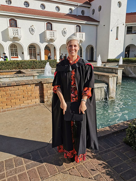 Deidré van Staden conducted her master's degree study on how child obesity, overweight, stunting and wasting affect academic performance in mathematics, language, reading and writing.
