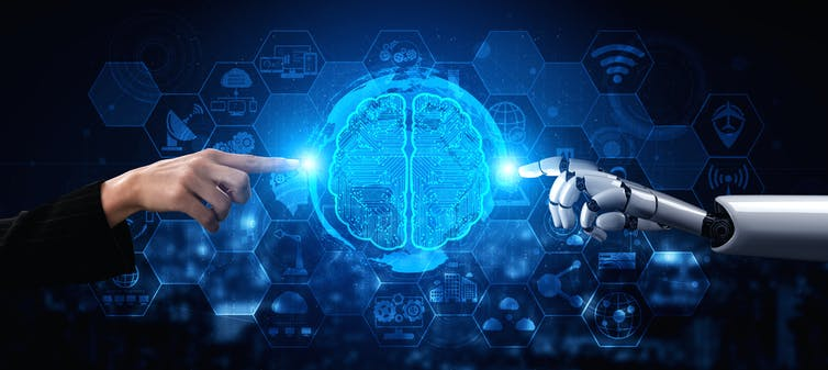 """""""Creativity machines"""" are capable of independent and complex functioning, so they can invent things. Blue Planet Studio/Shutterstock"""