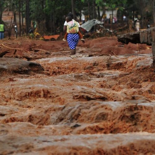 Flooding is projected to increase in eastern Africa. Toney Karumba/AFP via Getty Images