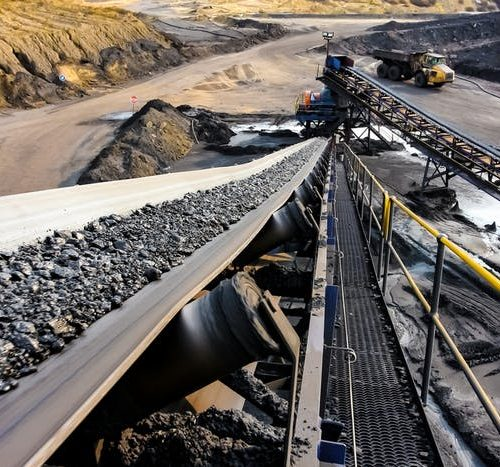 Coal processing in South Africa. Shutterstock